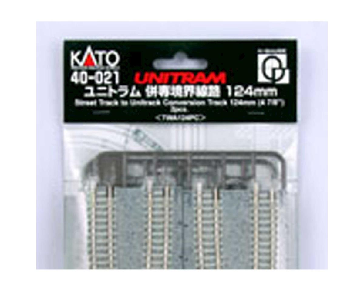 "Kato N UNITRAM to UNITRACK Conversion 124mm 4-7/8"" (2)"