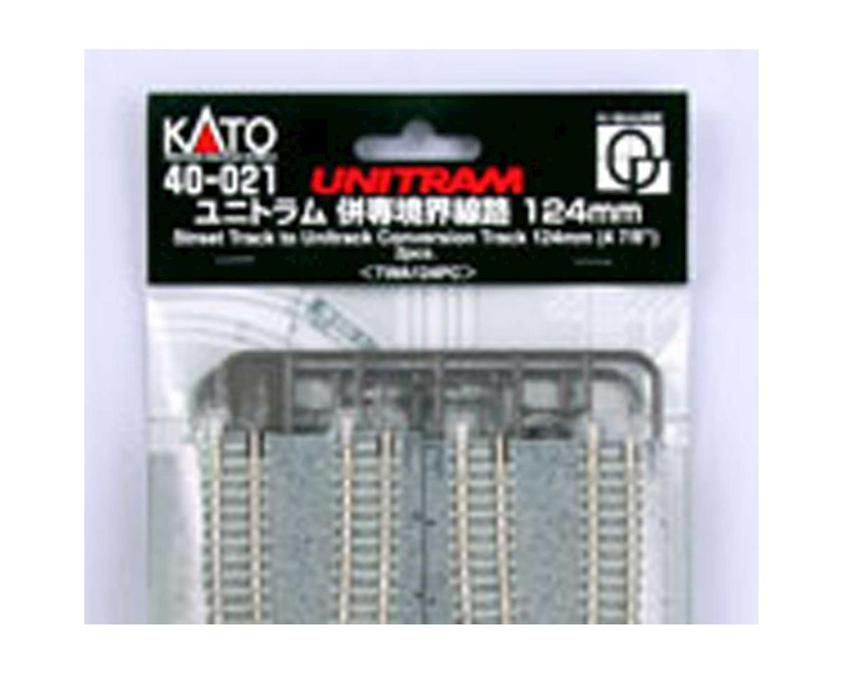 "Kato N UNITRAM to UNITRACK Conversion 124mm 4-7/8"" (2)"