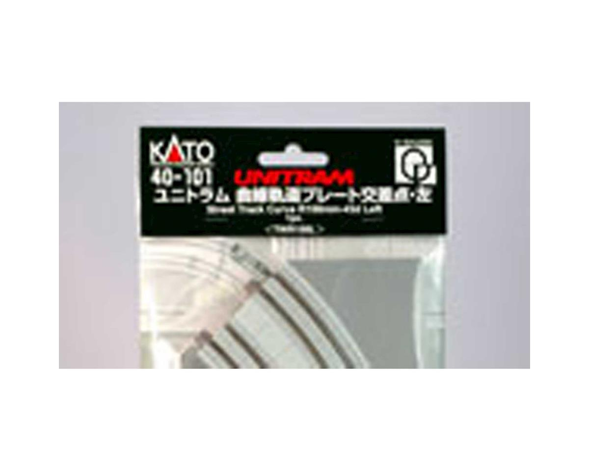 Kato UNITRAM R180mm 45 Degree Left Curve Street Track