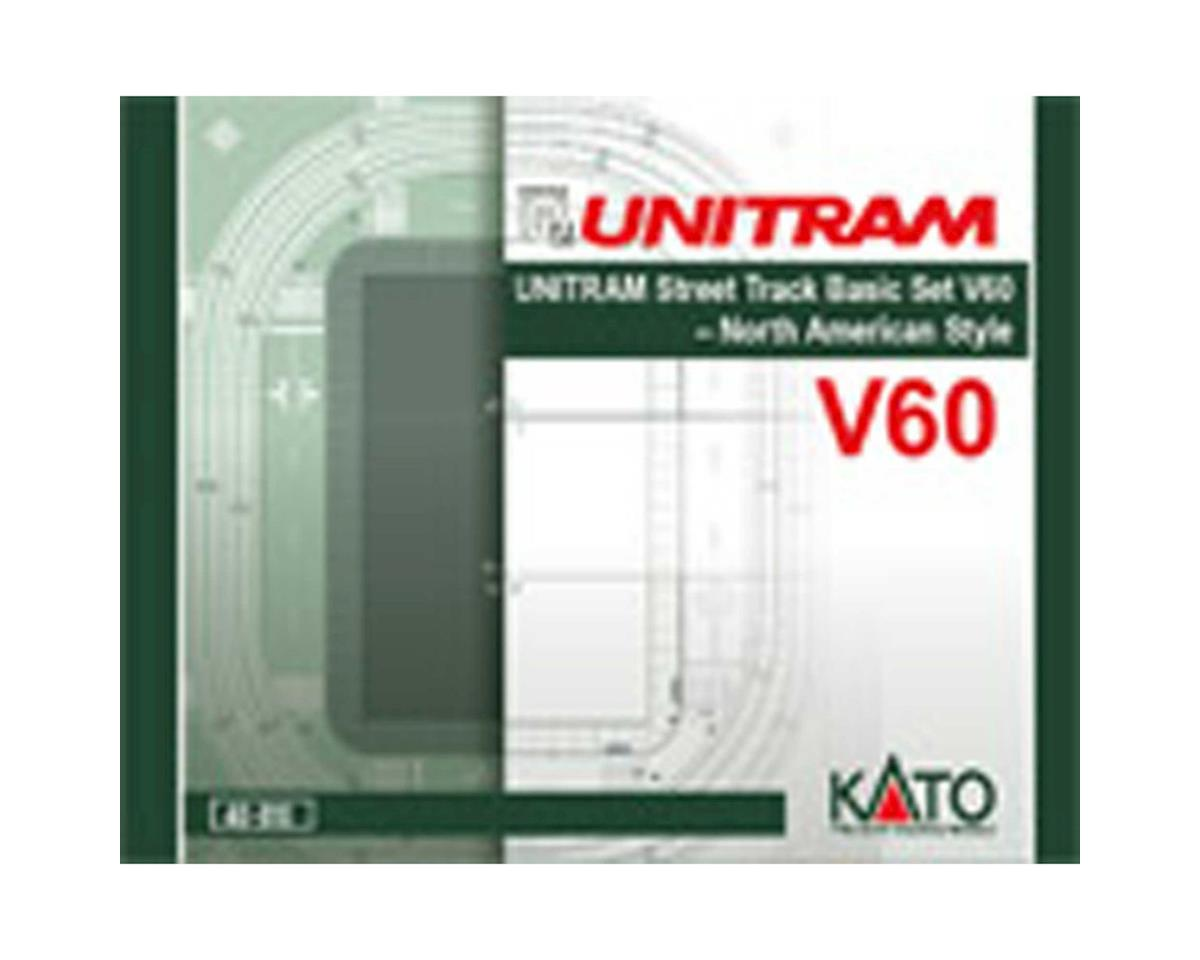 Kato N V60 UNITRAM North American Style Oval Track Set