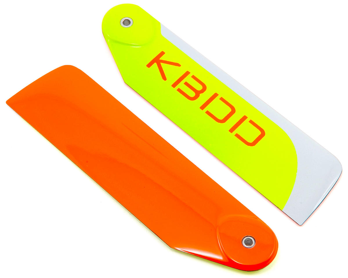 KBDD International 105mm Extreme Edition Tail Blade Set (Orange)