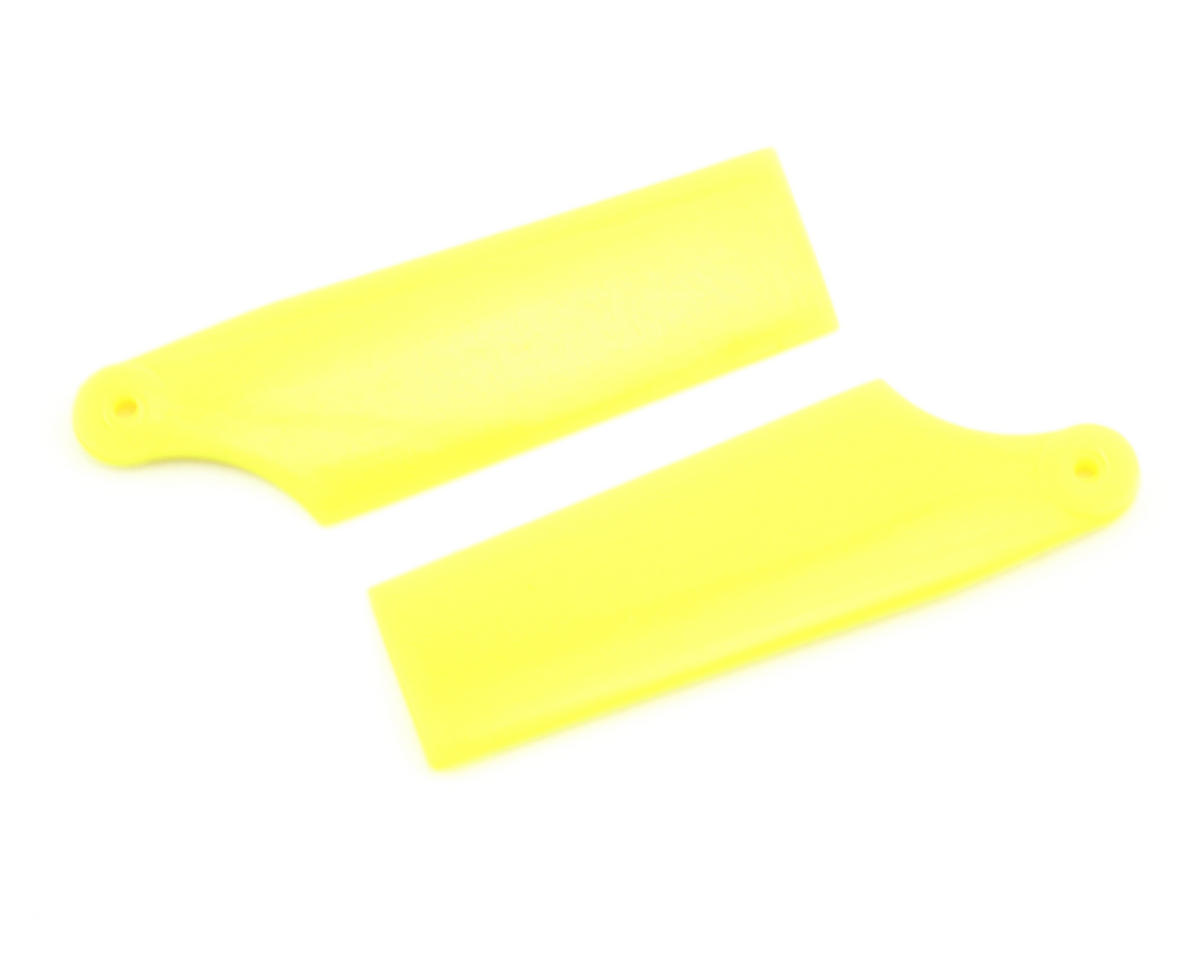 KBDD International T-Rex 450 60mm Neon Tail Blades (Yellow)