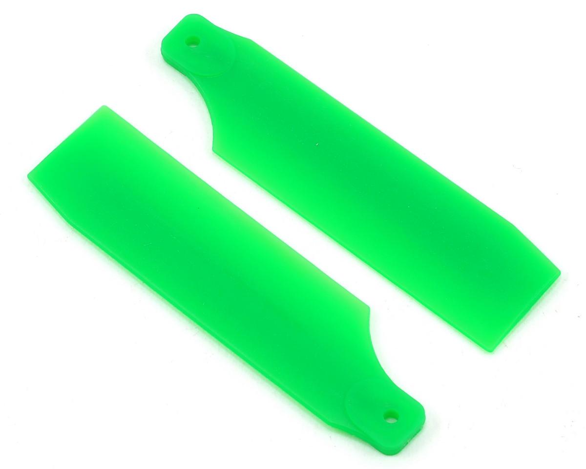 KBDD International T-REX 450 Pro 61mm Neon Tail Blades (Green)