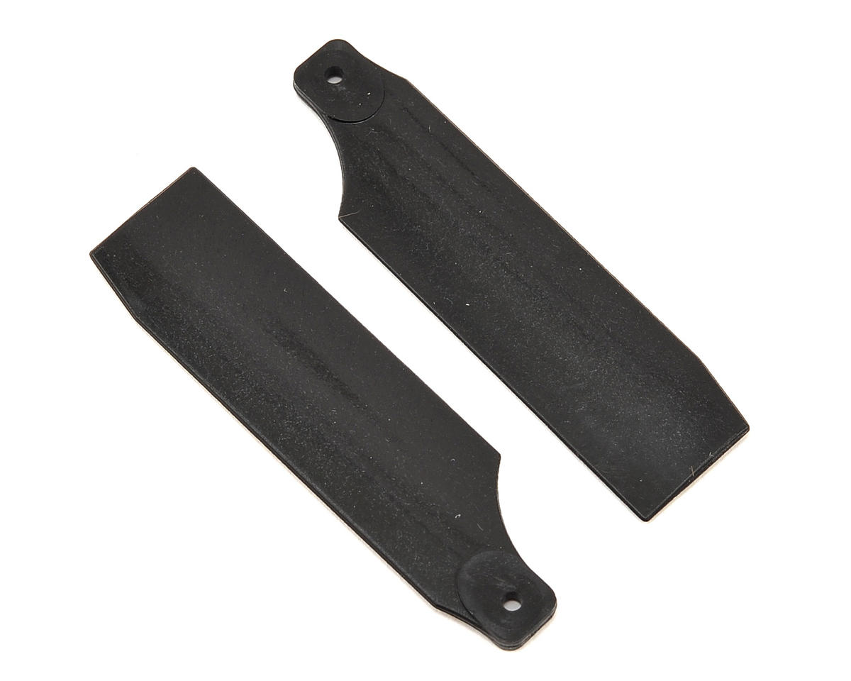 T-Rex 450 61mm Neon Tail Blades (Black)