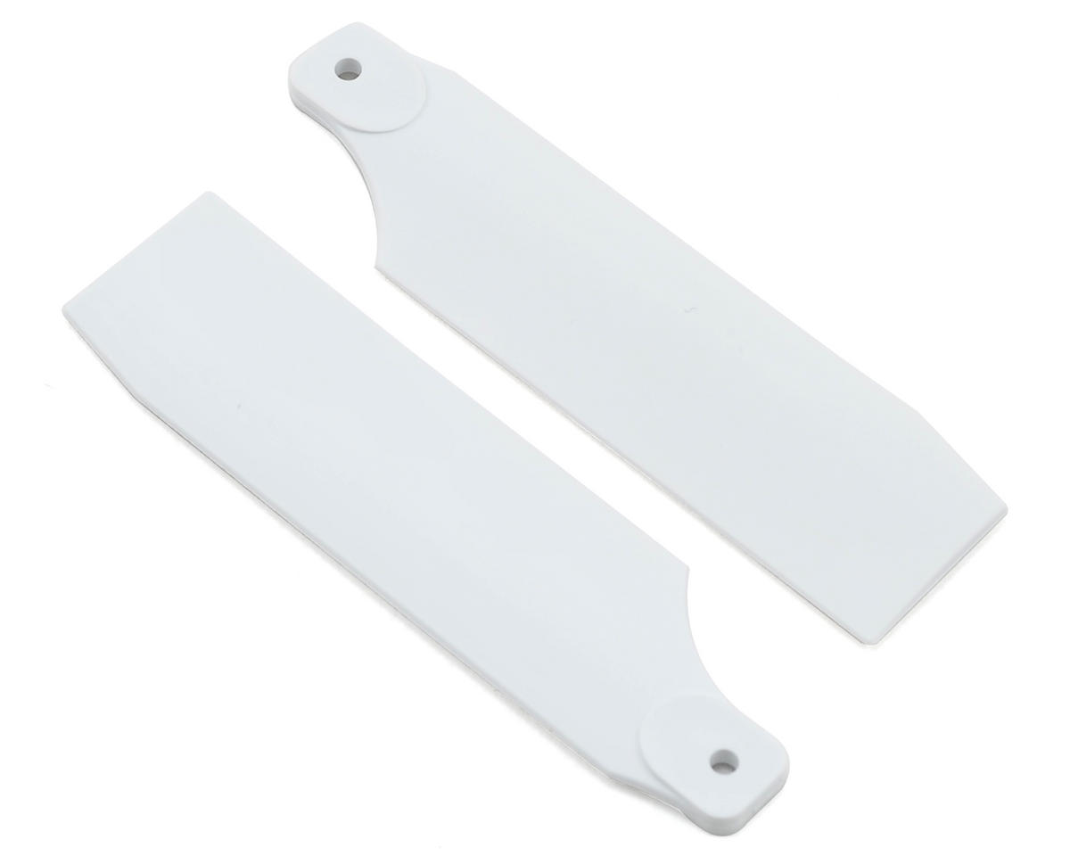 KBDD International T-REX 450 Pro 61mm Neon Tail Blades (White) (Align T-Rex Plus)