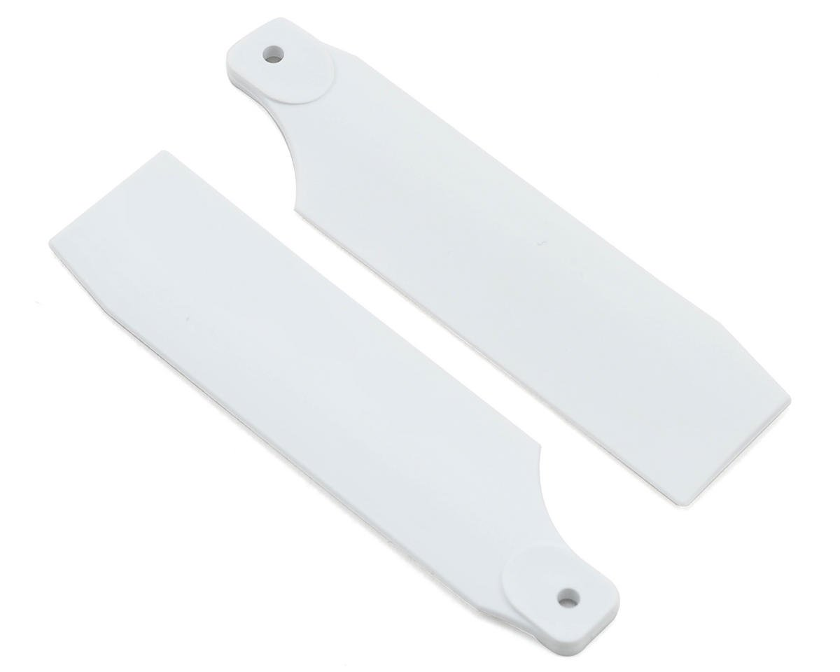 T-REX 450 Pro 61mm Neon Tail Blades (White)