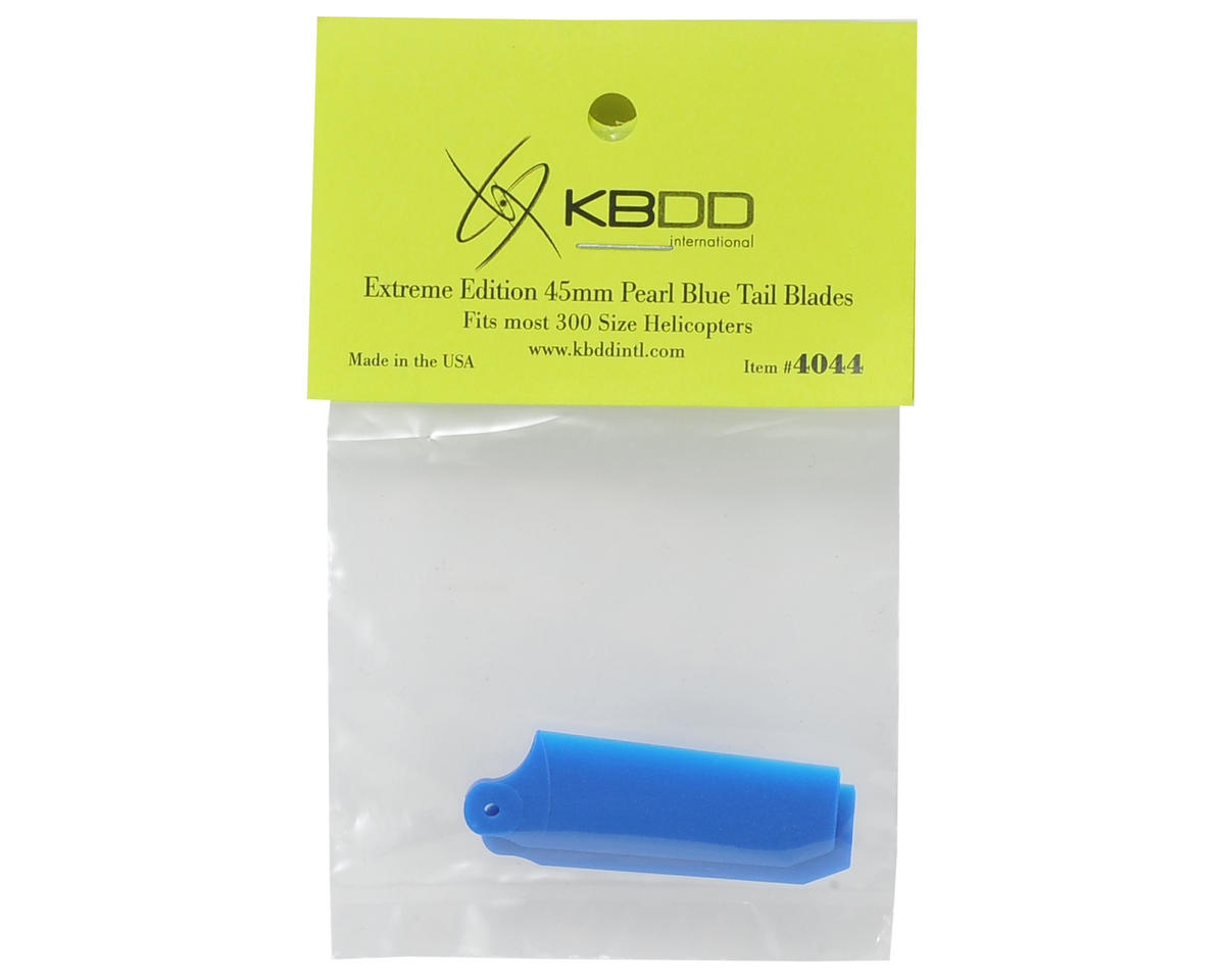 KBDD International 45mm Extreme Edition Tail Blade Set (Blue)