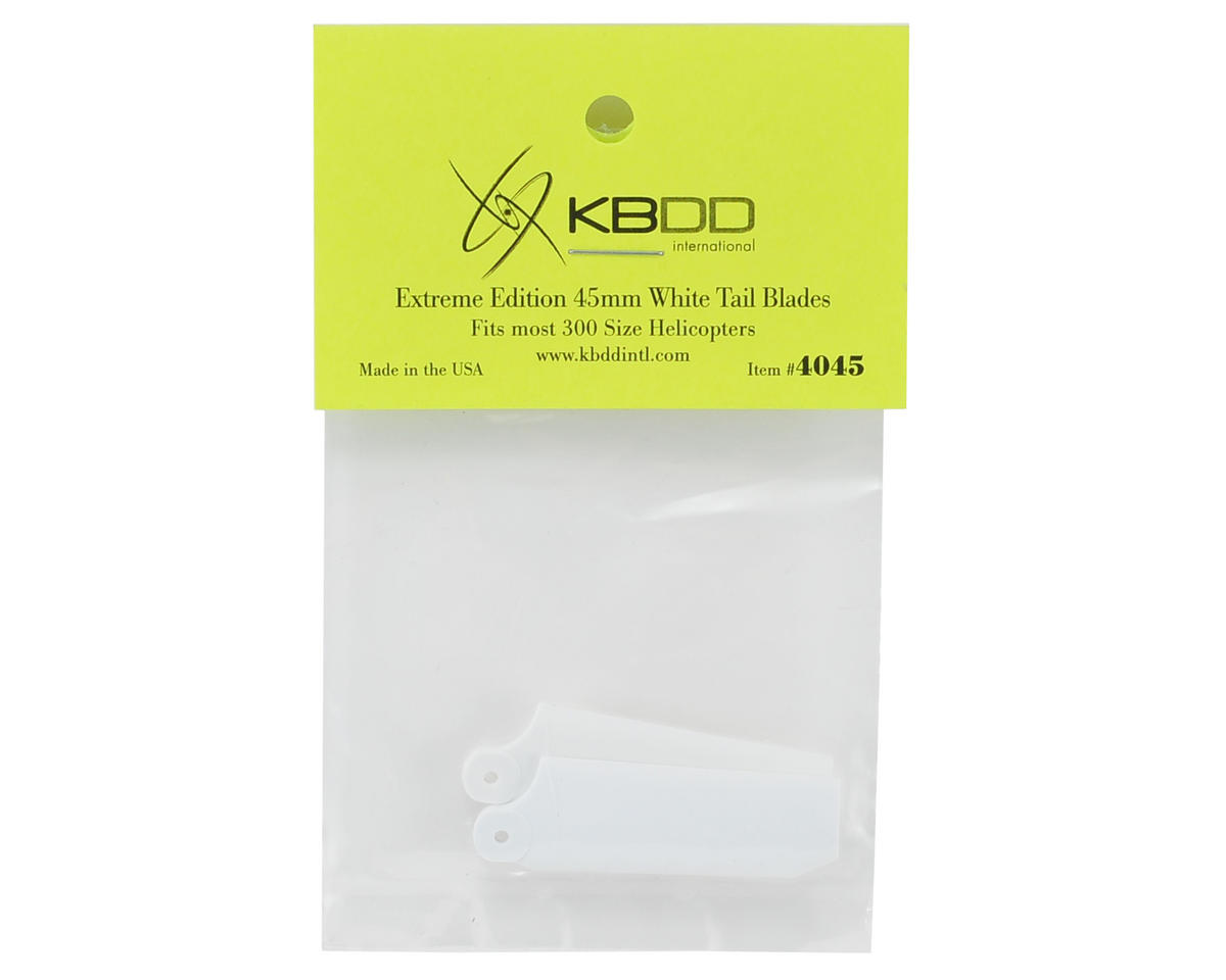KBDD International 45mm Extreme Edition Tail Blade Set (White)