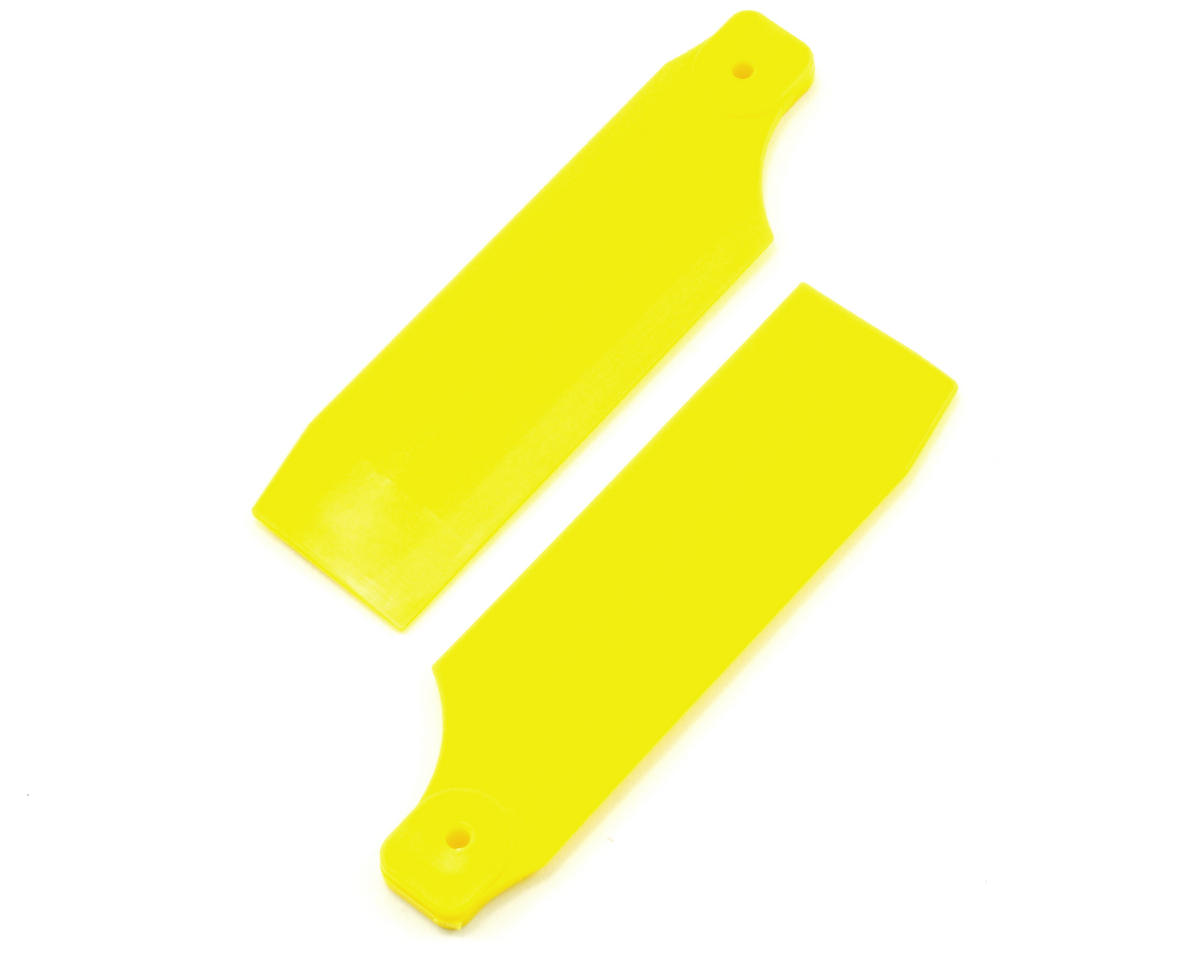 KBDD International 70mm Neon Tail Blade w/4mm Root (Yellow)