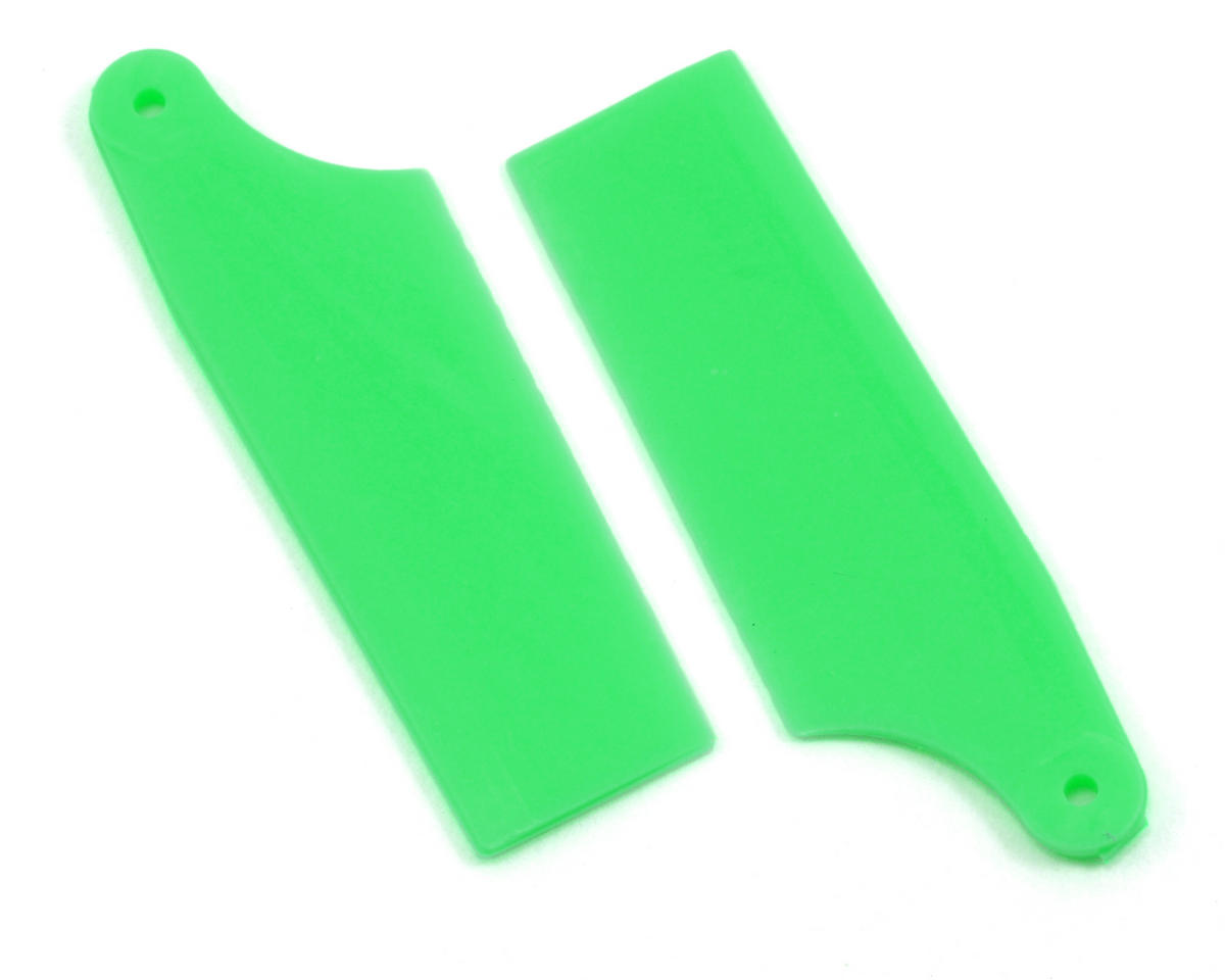 KBDD International HP 200/250 40mm Neon Tail Blades (Green)