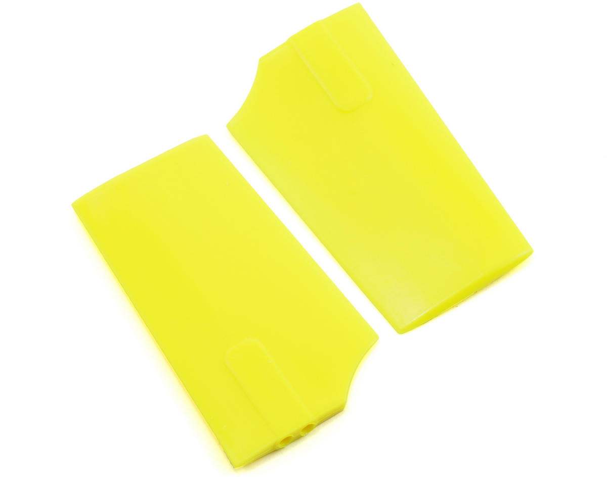 KBDD International HP 90 4.0mm Flybar Paddles (Yellow)