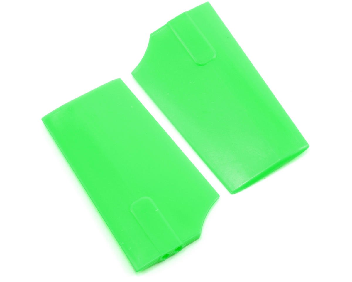 KBDD International HP 90 4.0mm Flybar Paddles (Green)