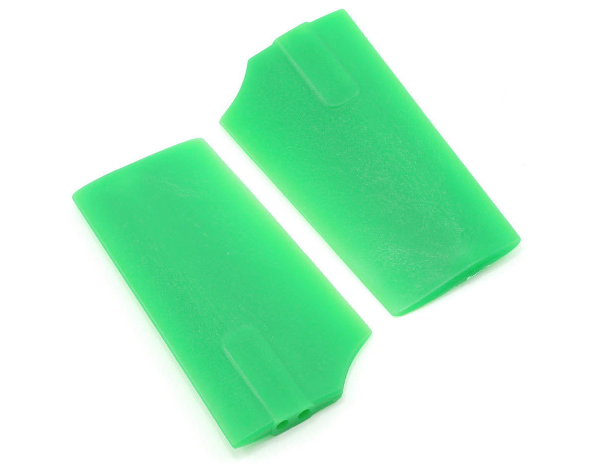 KBDD International HP 500 2.5mm Flybar Paddles (Green)