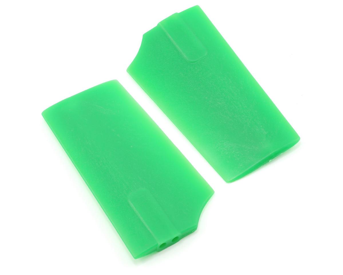 KBDD International HP 500 2.5mm Flybar Paddles (Green)