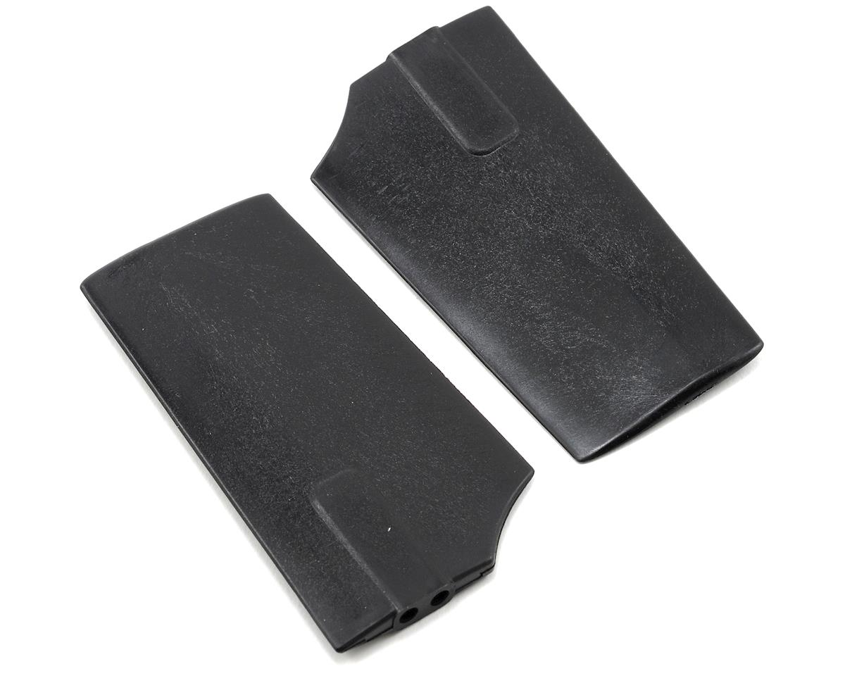 KBDD International HP 500 2.5mm Flybar Paddles (Black)