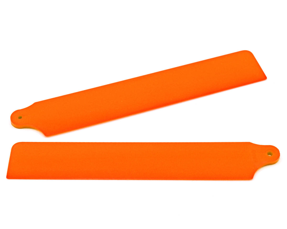 "KBDD International Blade mCP X ""Pilot's Choice"" Main Blade Set (Neon Orange)"