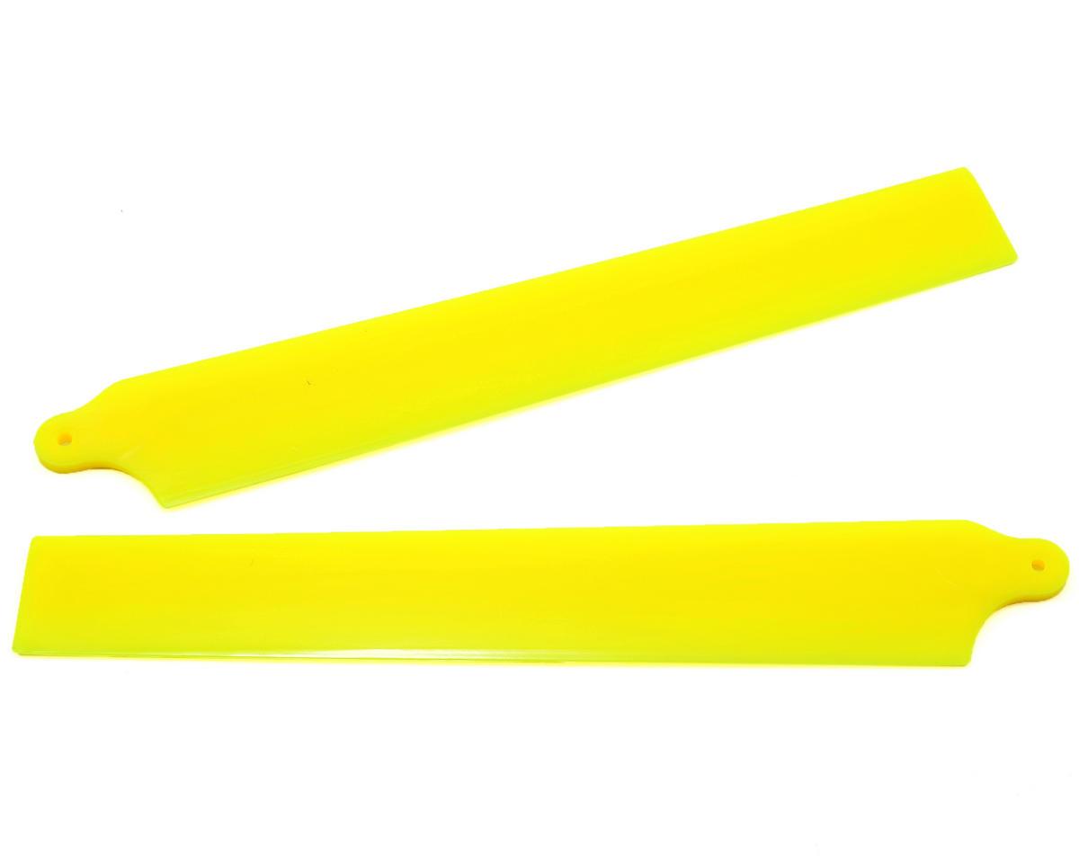 KBDD International Blade 130 X Extreme Edition Main Blade Set (Neon Yellow)