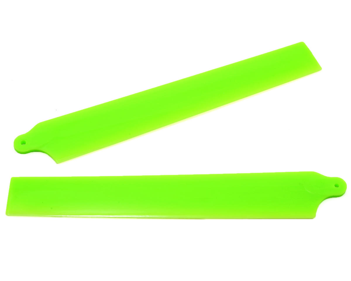 KBDD International Blade 130 X Extreme Edition Main Blade Set (Neon Lime)