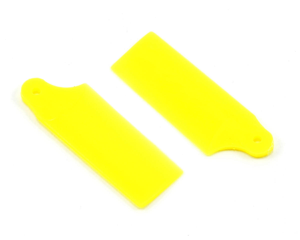 KBDD International Blade 130 X Extreme Edition Tail Blade Set (Neon Yellow)