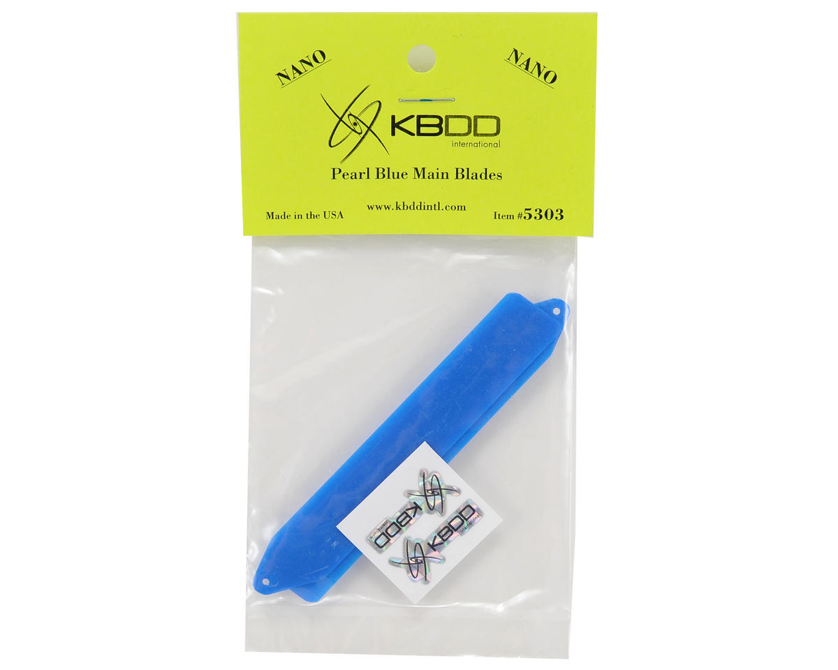 KBDD International Blade Nano Extreme Edition Main Blade Set (Blue)
