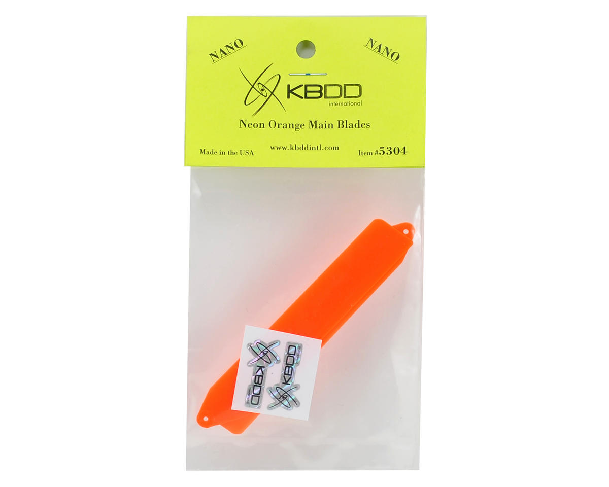 KBDD International Blade Nano Extreme Edition Main Blade Set (Neon Orange)