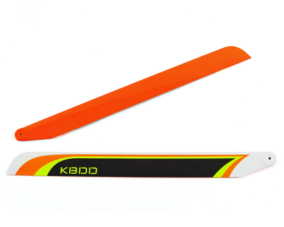 KBDD International 600mm Carbon Fiber Extreme Flybarless Main Blade (Orange)