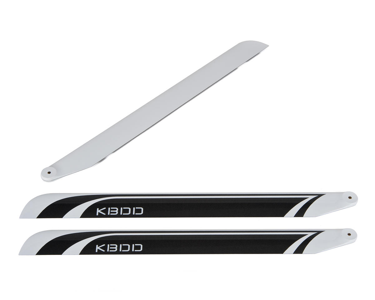 KBDD International 690mm Extreme Edition Carbon Fiber Main Blades (3)