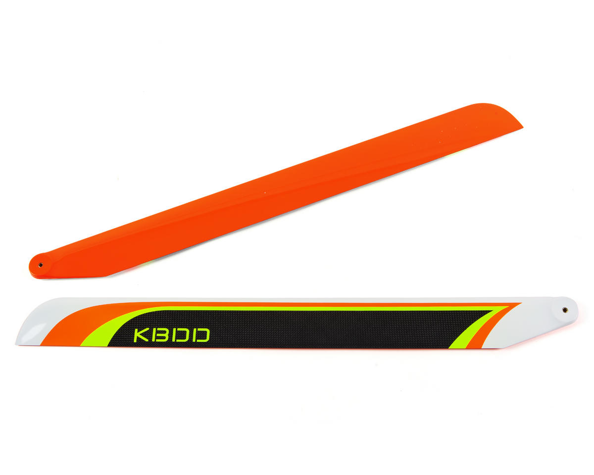 KBDD International 690mm Carbon Fiber Extreme Flybarless Main Blade (Orange)