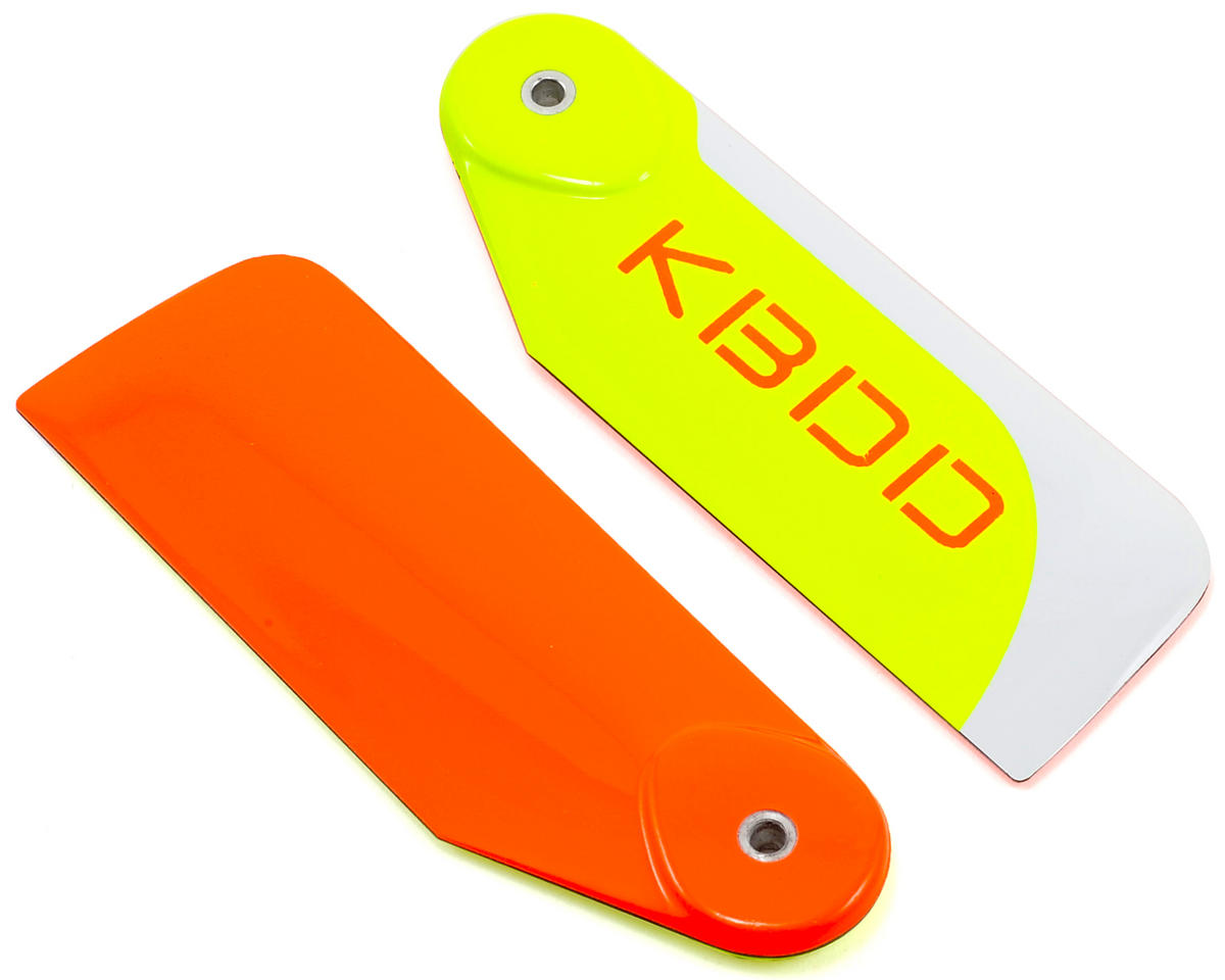 KBDD International 80mm Extreme Edition Tail Blade Set (Orange)