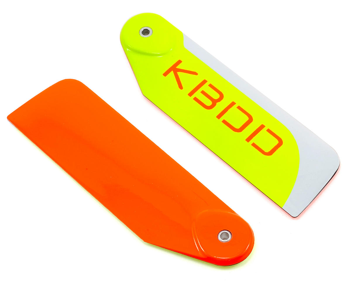 KBDD International 95mm Extreme Edition Tail Blade Set (Orange)