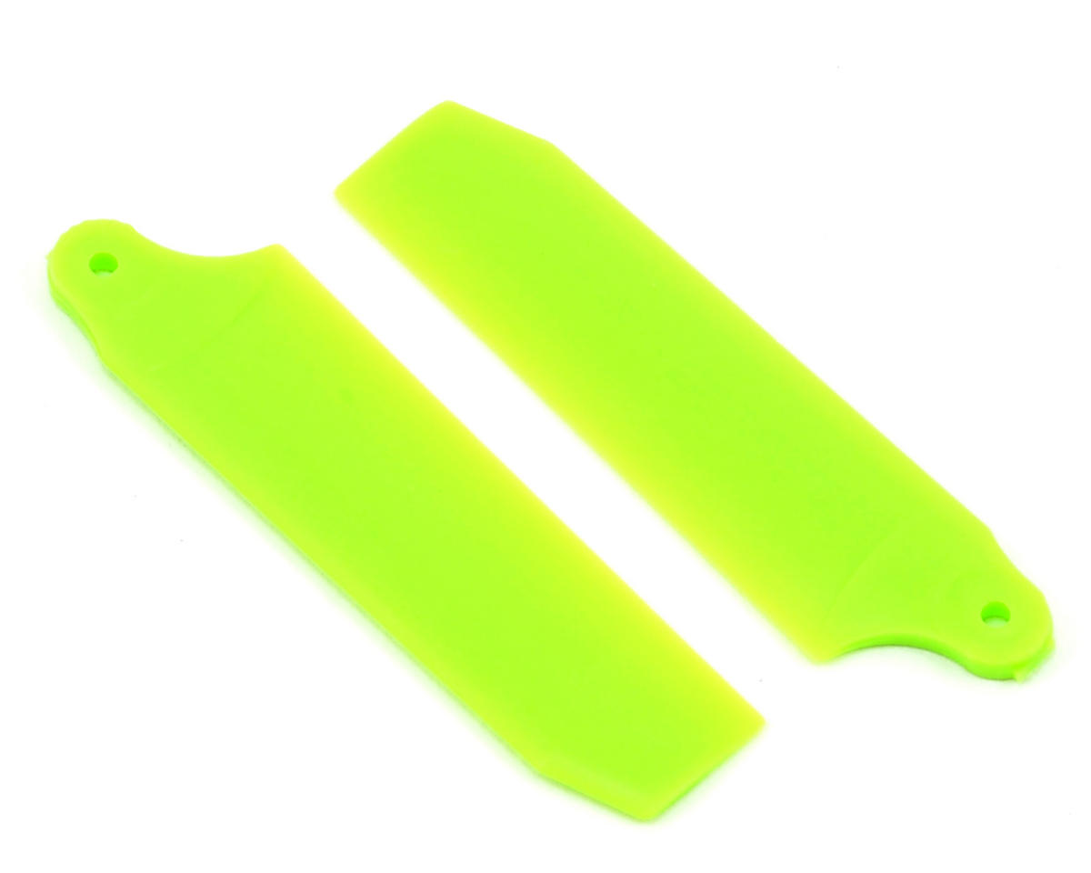 HP 200/250 40mm Extreme Tail Blade (Neon Lime) (2) by KBDD International