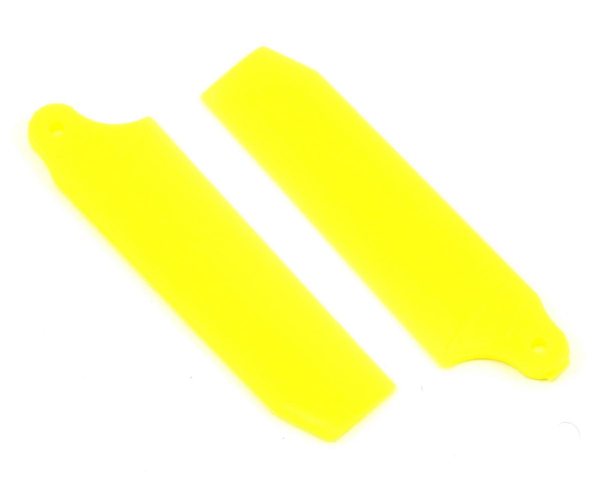 KBDD International HP 200/250 40mm Extreme Tail Blade (Neon Yellow) (2)