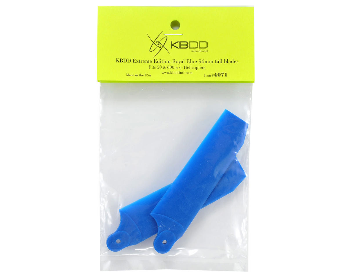 KBDD International Extreme Edition 96mm Tail Blade Set (Blue)