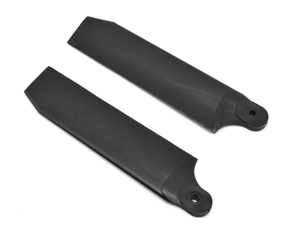 KBDD International 96mm Extreme Edition Tail Blades (Black) (50/600) (Thunder Tiger Raptor 50)