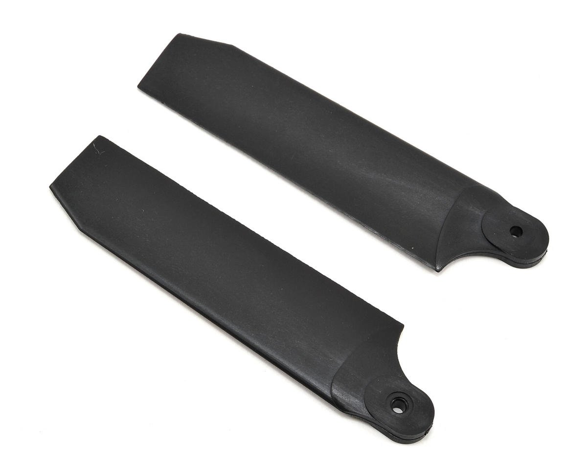 KBDD International 96mm Extreme Edition Tail Blades (Black) (50/600) (Align T-Rex 600E Pro)