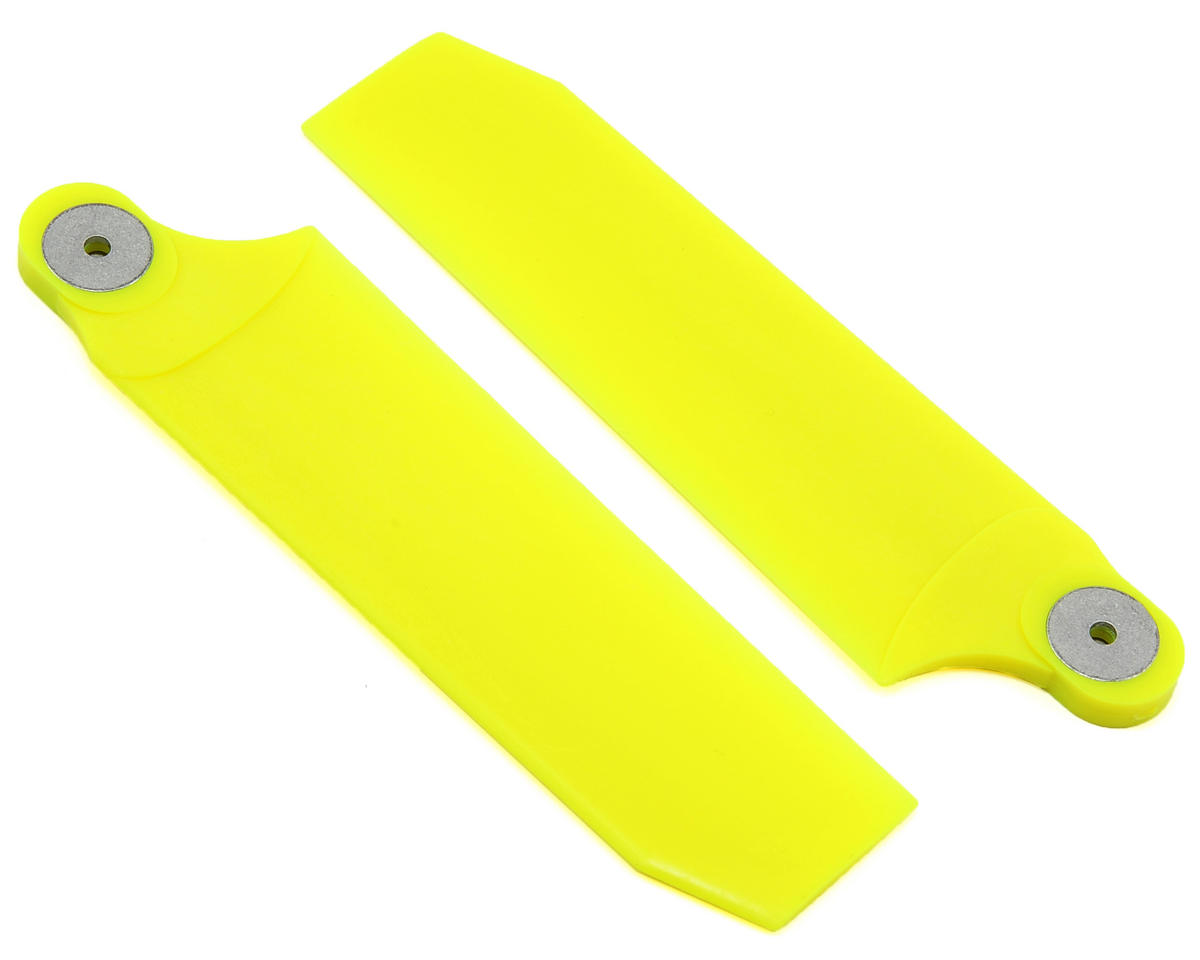 KBDD International Extreme Edition 112mm Tail Blade Set (Neon Yellow)