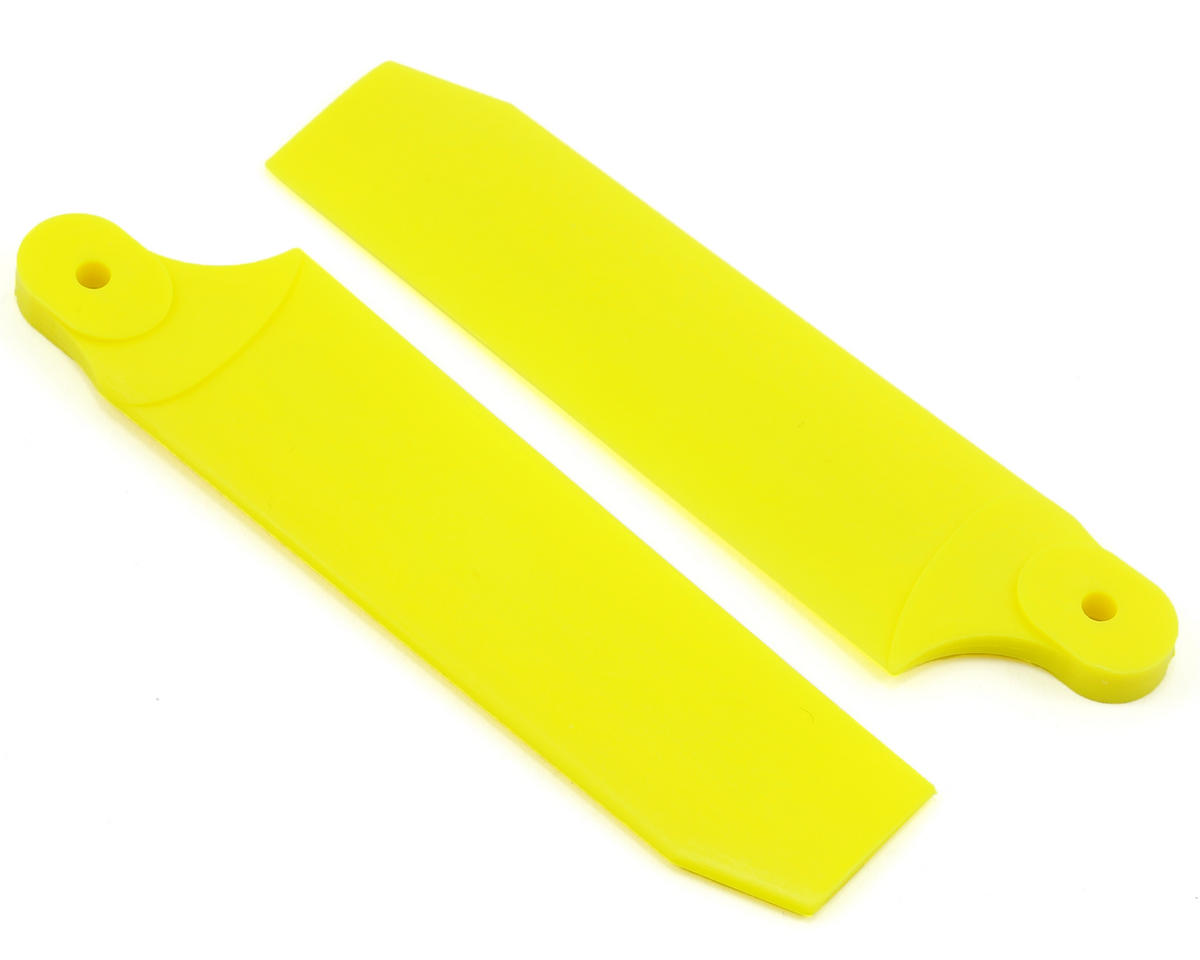 KBDD International Extreme Edition 84.5mm Tail Blade Set (Neon Yellow)