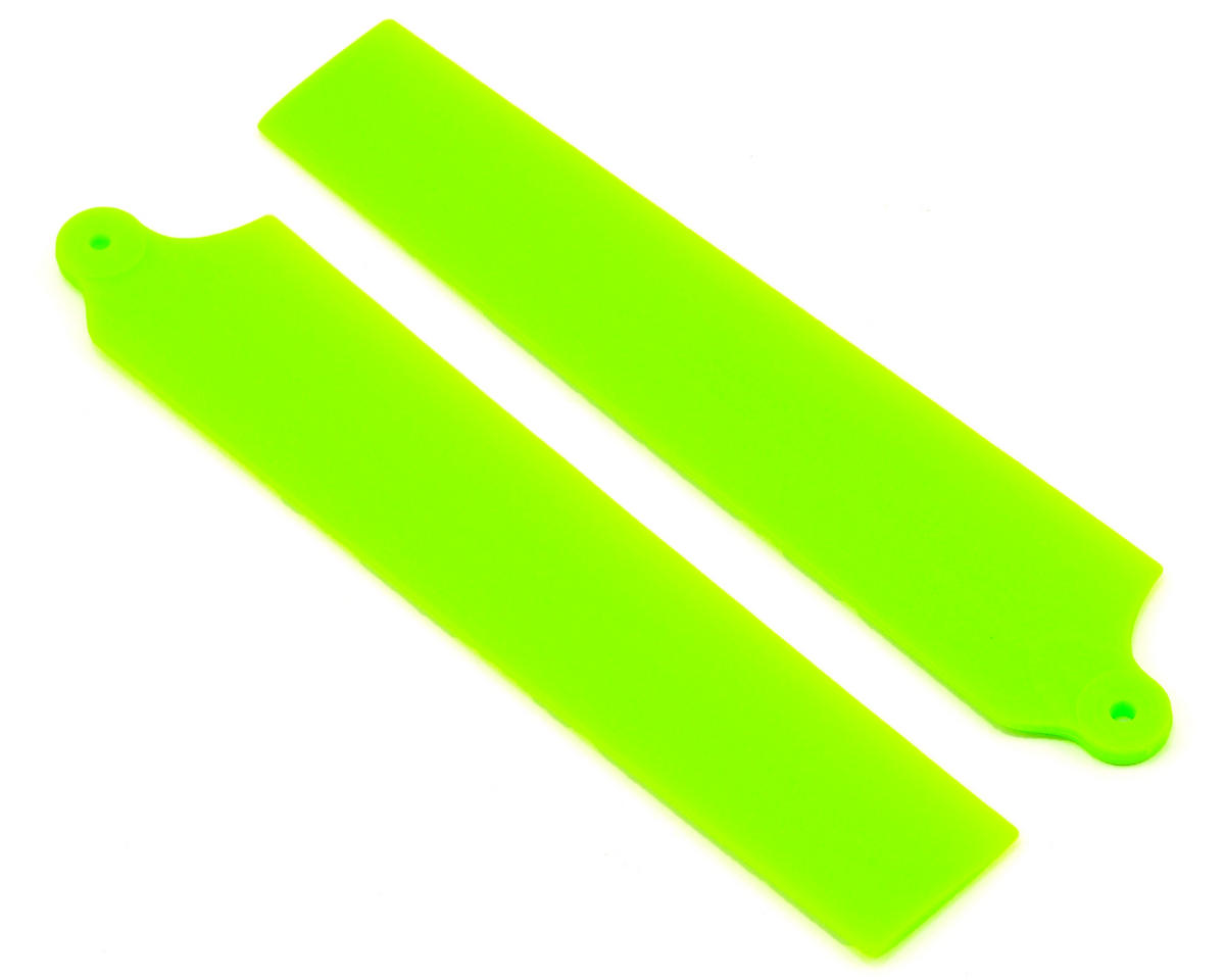 KBDD International Blade mCP X Extreme Edition Main Blade Set (Neon Lime)