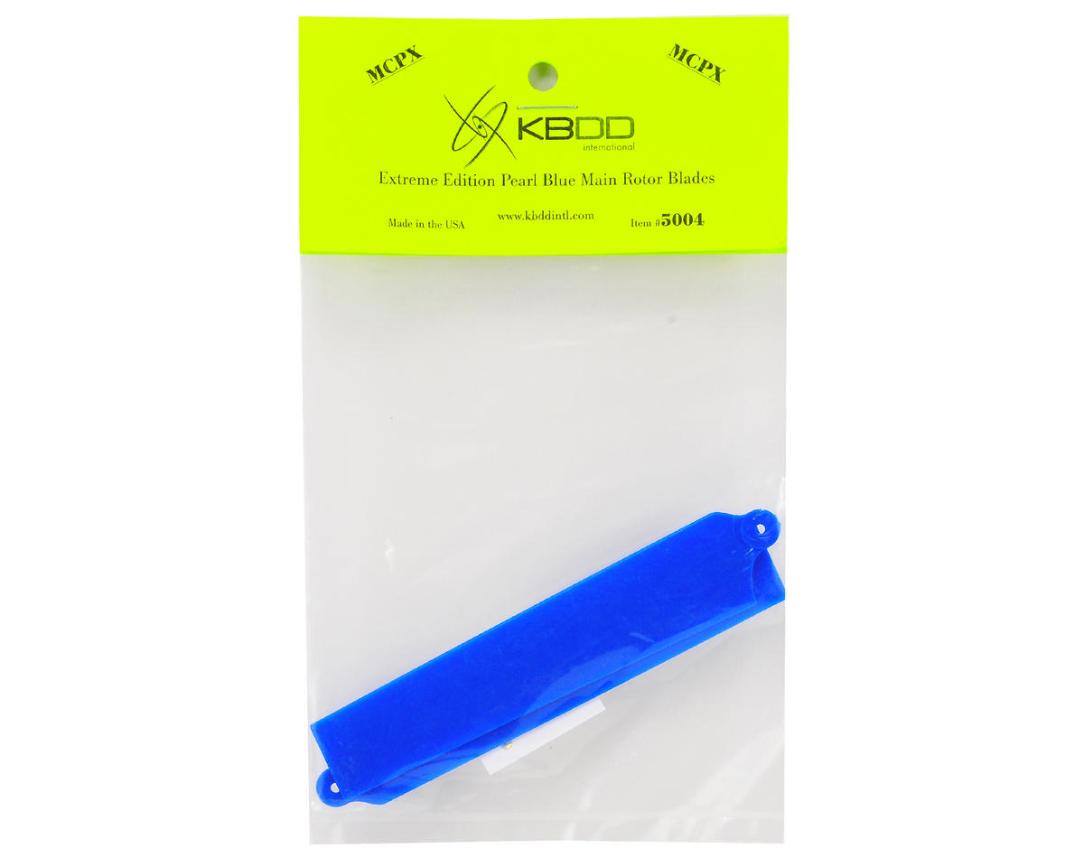 KBDD International Blade mCP X Extreme Edition Main Blade Set (Blue)