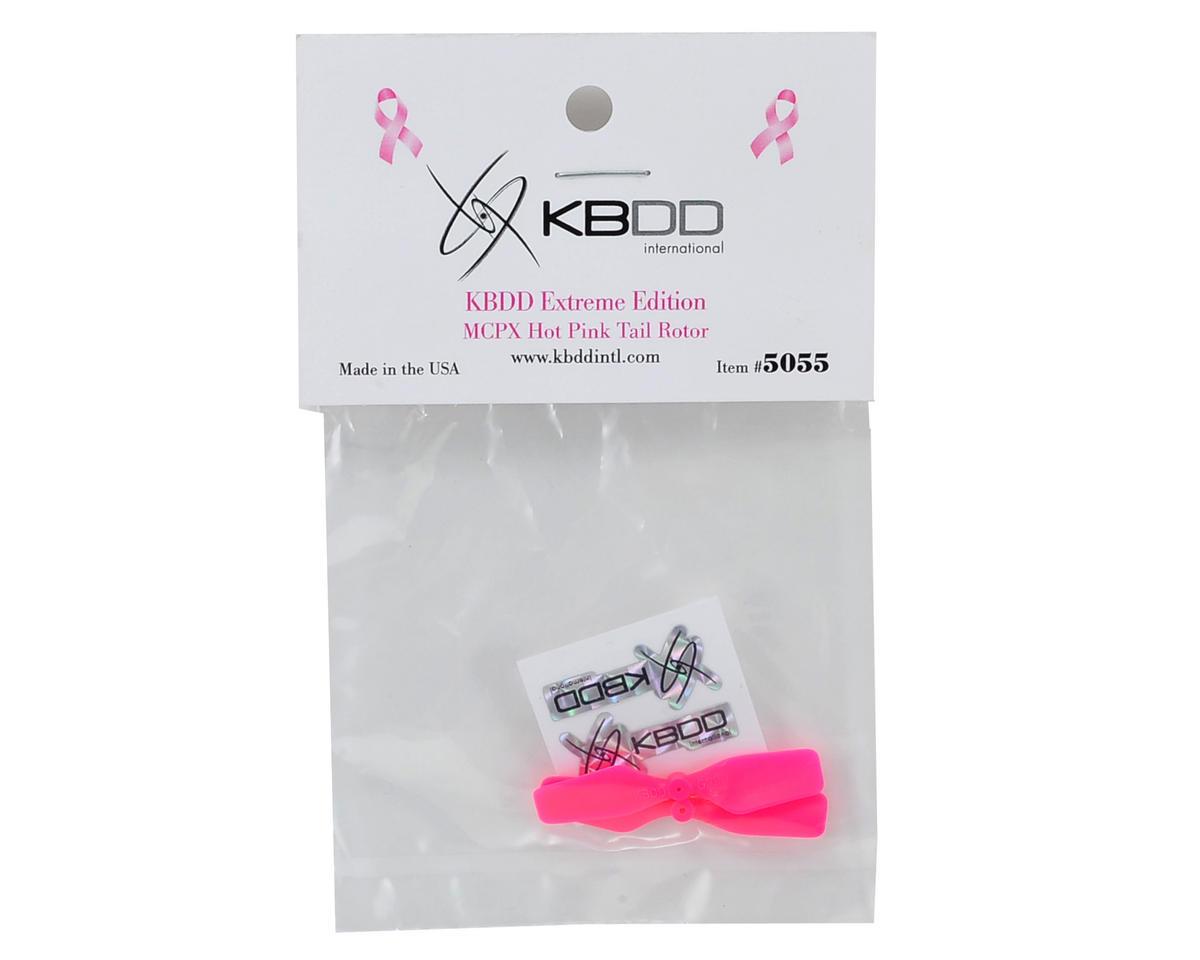 KBDD International Blade mCP X Extreme Edition Tail Blade Set (Hot Pink) (2)