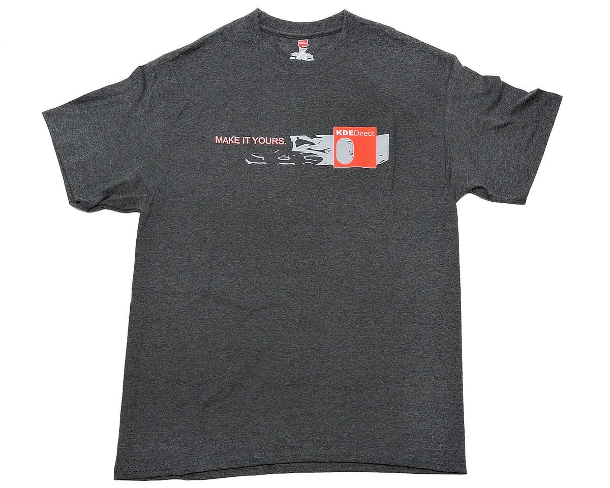 KDE Direct Series Logo T-Shirt (Gray)