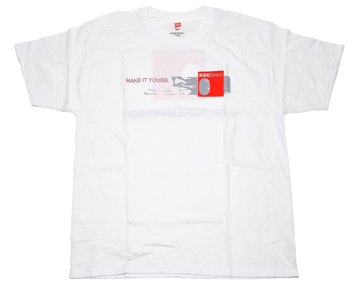 KDE Direct Series Logo T-Shirt (White)