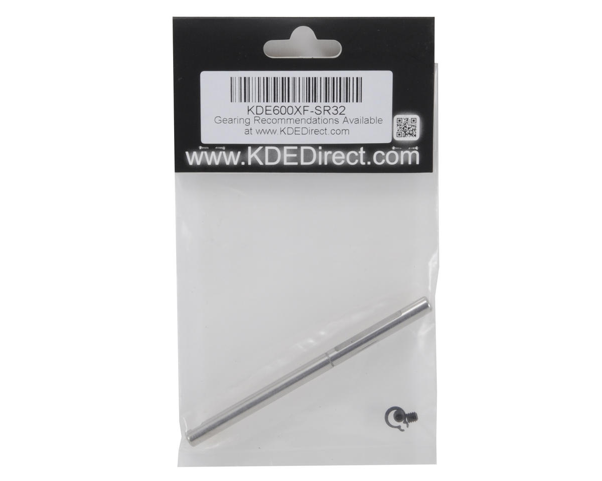 KDE Direct 550/600XF Replacement Motor Shaft Kit (6mm/6mm)