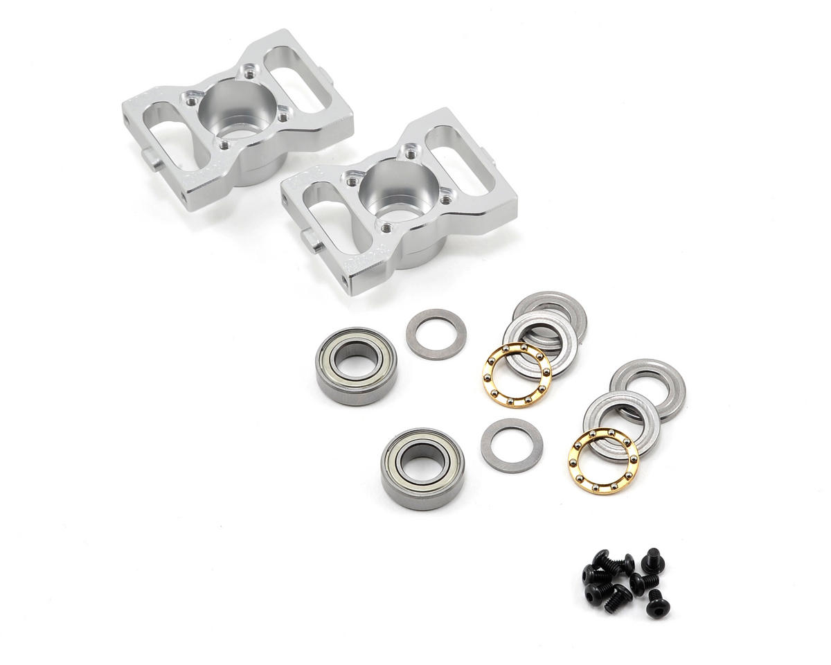 KDE Direct TREX 500 Series Thrusted Metal Bearing Blocks V2 (Align T-Rex 500)