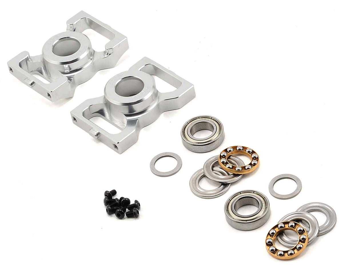 TREX 600 Series Thrusted Metal Bearing Blocks V2 Set by KDE Direct