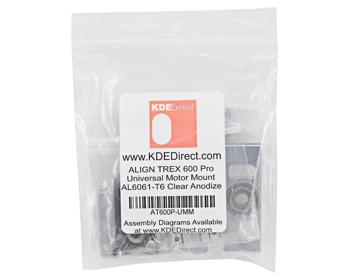 KDE Direct Universal Motor Mount & Pinion Support (T-Rex 600E PRO)
