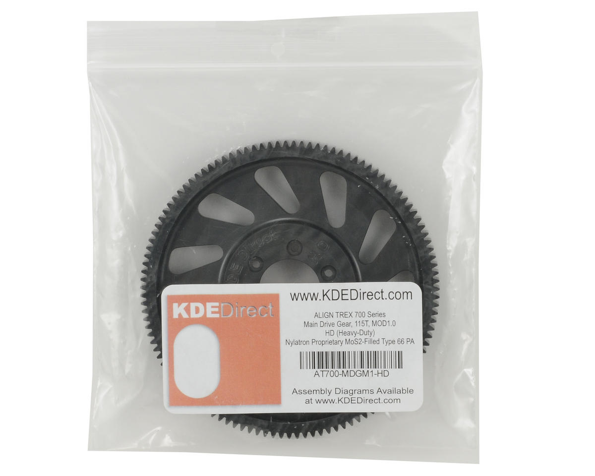 KDE Direct Mod 1 HD Main Drive Gear (115T)