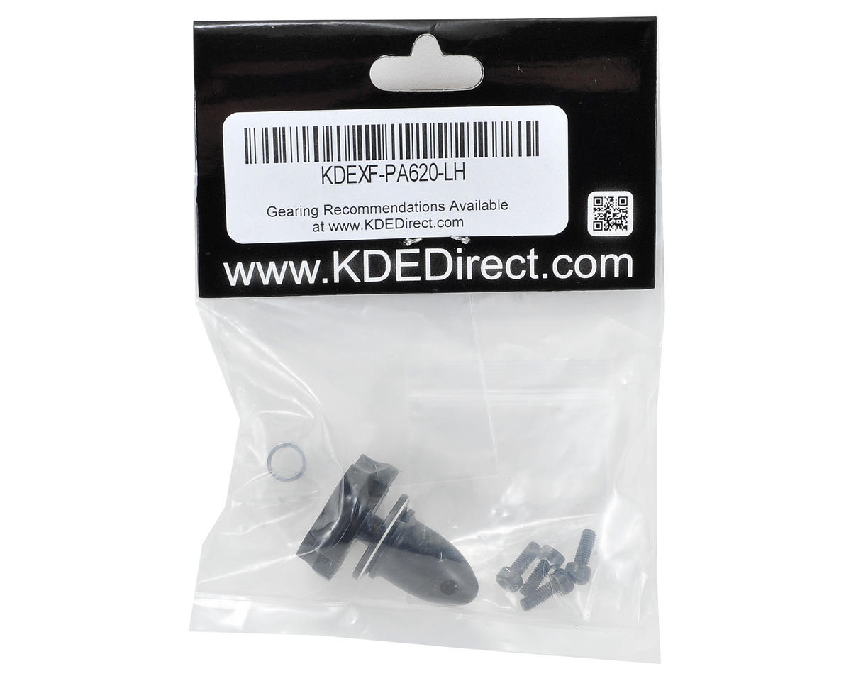 KDE Direct XF Multi-Rotor M6 Series Propeller Adapter (Black) (CW)