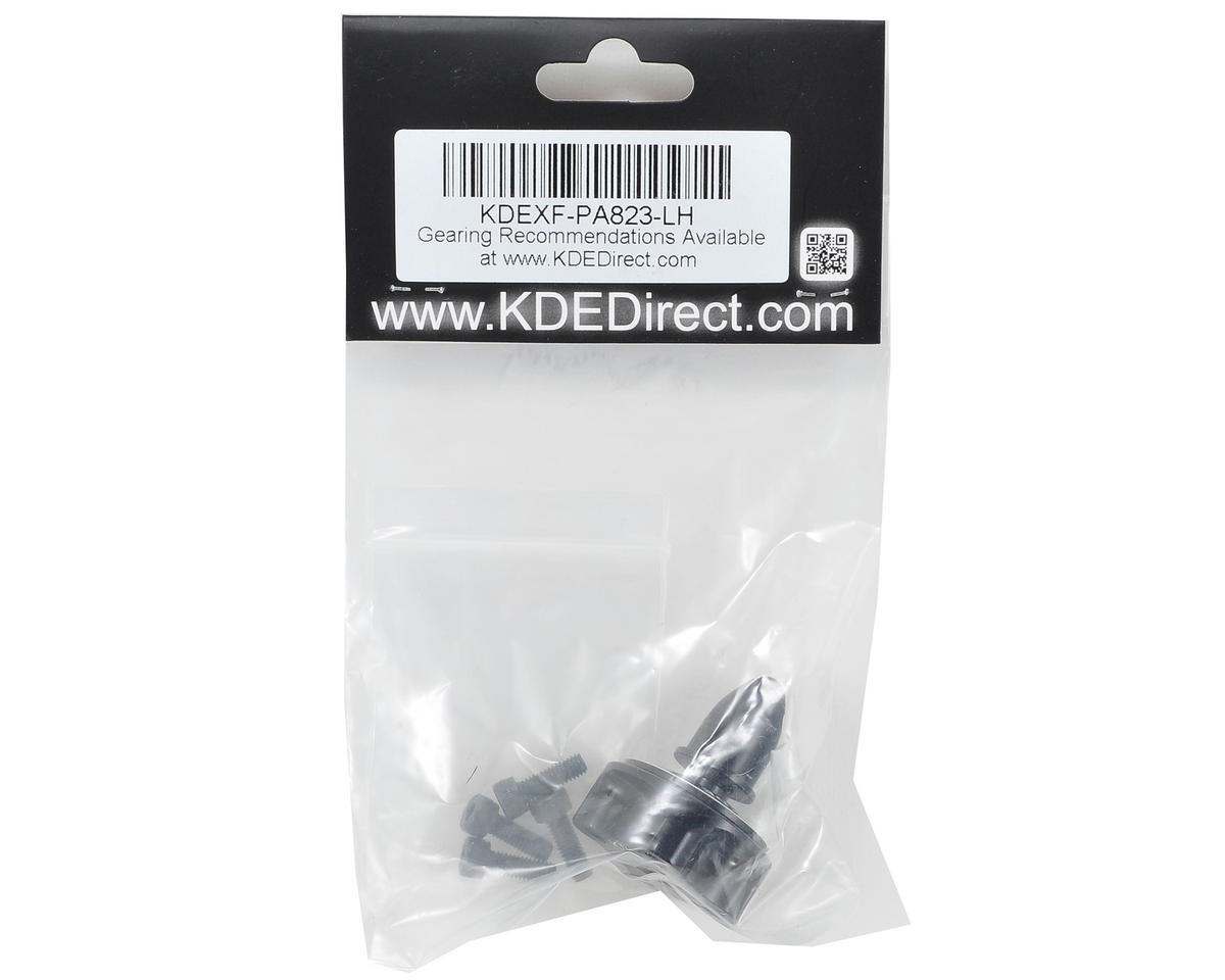 KDE Direct XF Multi-Rotor M8 Series Propeller Adapter (Black) (CW)