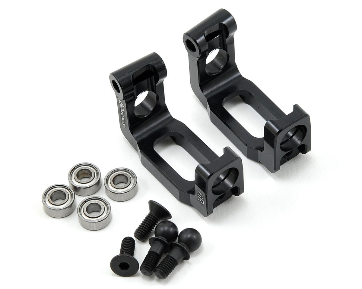 K Factory Aluminum 6° Caster Block Set w/Bearings